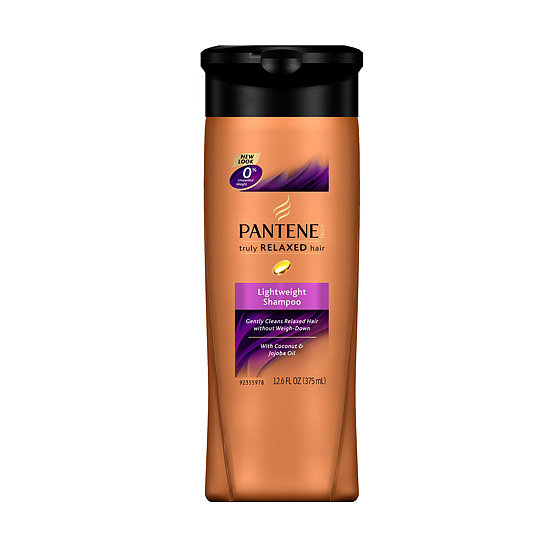 Specifically formulated for relaxed strands, Pantene Pro-V Truly Relaxed Hair Lightweight Shampoo ($5) gently cleanses hair while adding moisture and nourishment. So long, breakage.