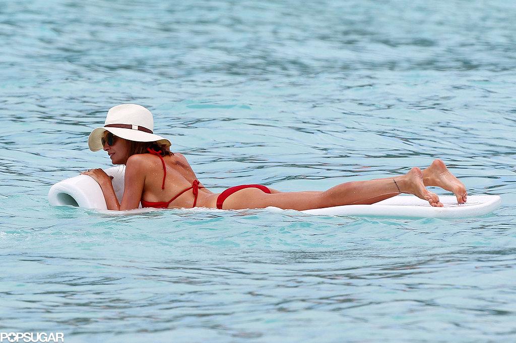 Jessica Alba and Nicole Richie Slip In Bikini Time in St. Barts