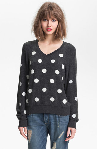 Wildfox Polka Dot Sweatshirt
