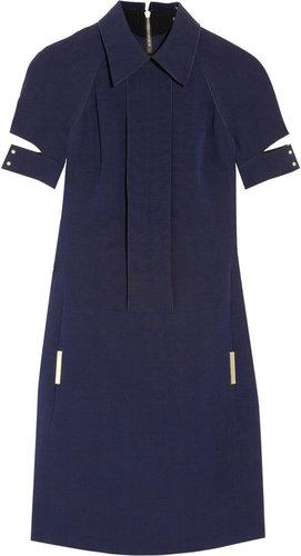 Victoria Beckham Wool and silk-blend dress