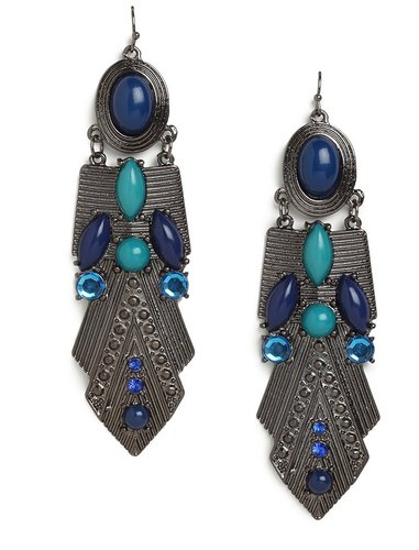 Azure Amun Earrings