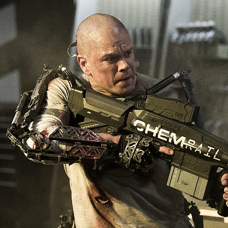 Elysium Movie Trailer With Matt Damon