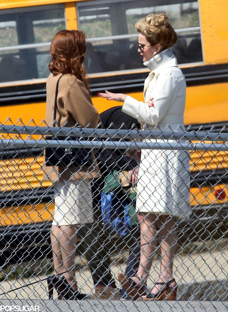 Jennifer Lawrence Sports a Neck Brace While Filming in Boston