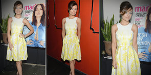Olivia Wilde Supplies Colorful Spring-Dress Inspiration!