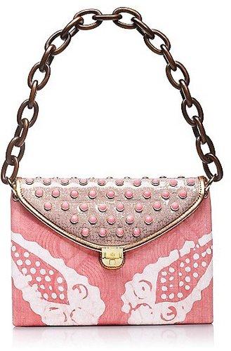 Tory Burch Maddie Pink Tie-Dye Shoulder Bag