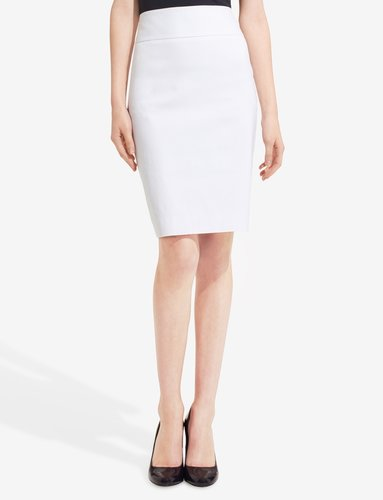 Exact Stretch Wide Waistband Pencil Skirt