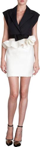 Lanvin Peplum Waist Skirt