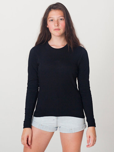 Fine Jersey Long Sleeve T