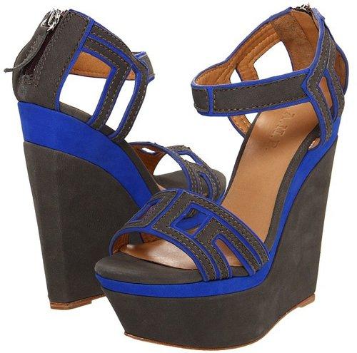 L.A.M.B. - Iva (Grey/Blue) - Footwear