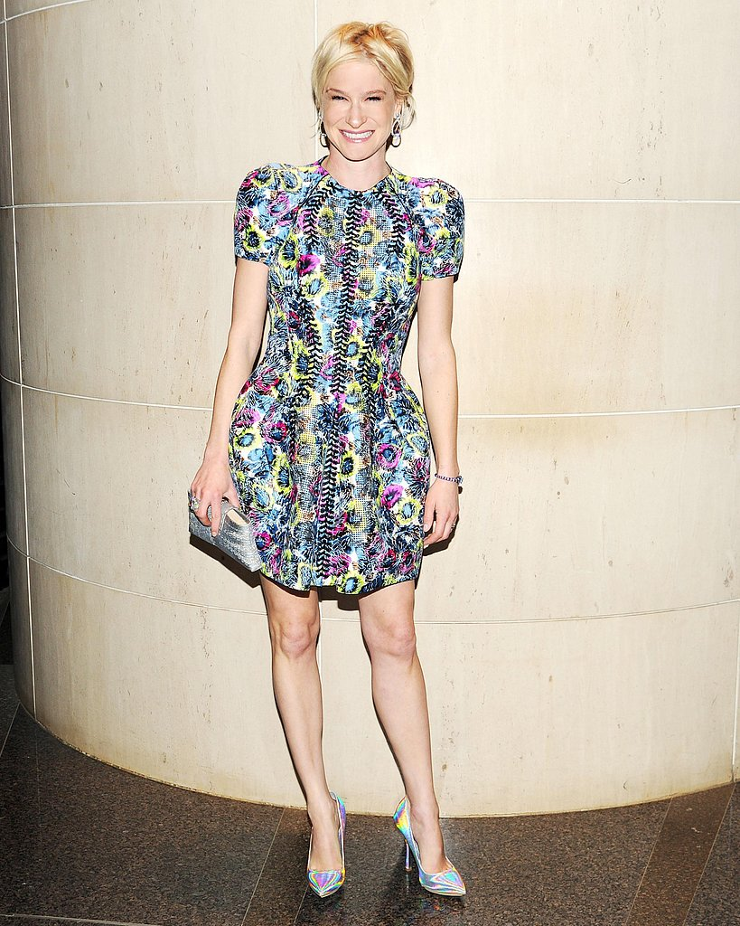 Julie Macklowe wore Balenciaga at the New Yorkers For Children 10th Anniversary Spring Dinner Dance in New York. Photo: Billy Farrell/BFAnyc.com