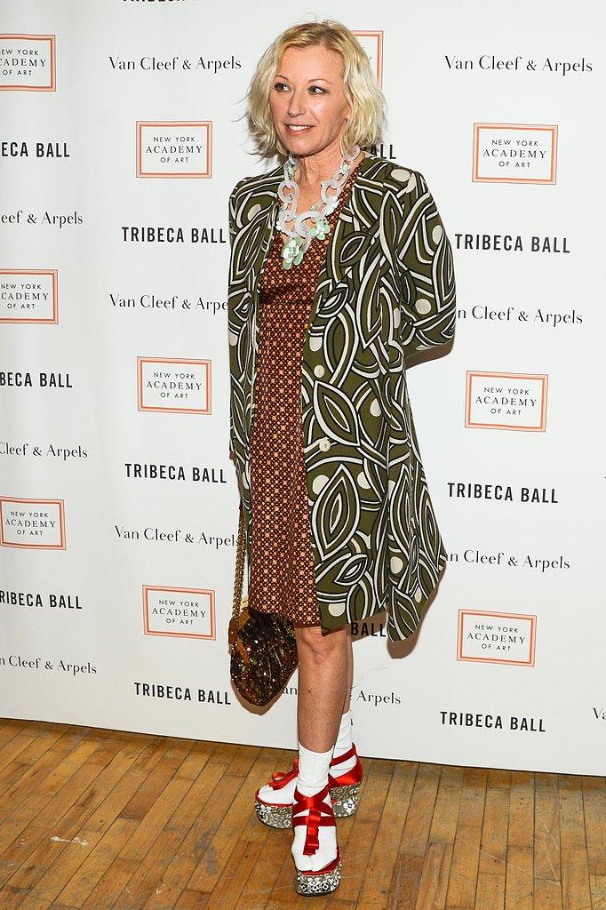 Cindy Sherman at New York Academy of Art's Tribeca Ball in New York. Photo: Billy Farrell/BFAnyc.com
