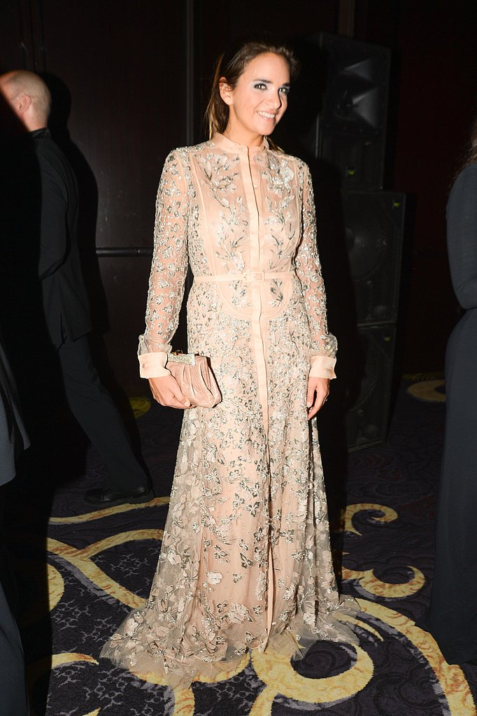 Laure Heriard Dubreuil wore Valentino at the New Yorkers For Children 10th Anniversary Spring Dinner Dance in New York. Photo: Joe Schildhorn/BFAnyc.com