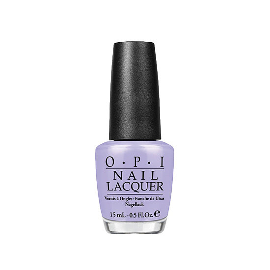There's something sweet and a little unexpected about a pop of lavender peeking out of your sandals. Try OPI You're Such a BudaPest ($9).