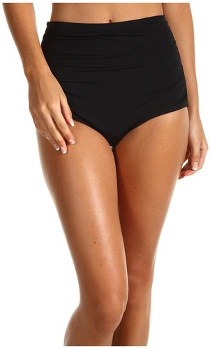 GUESS - On The Prowl High Waist Brief (Black) - Apparel