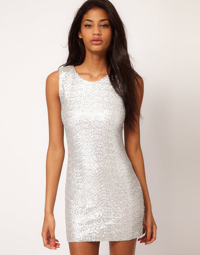 TFNC Sequin Dress Sleeveless