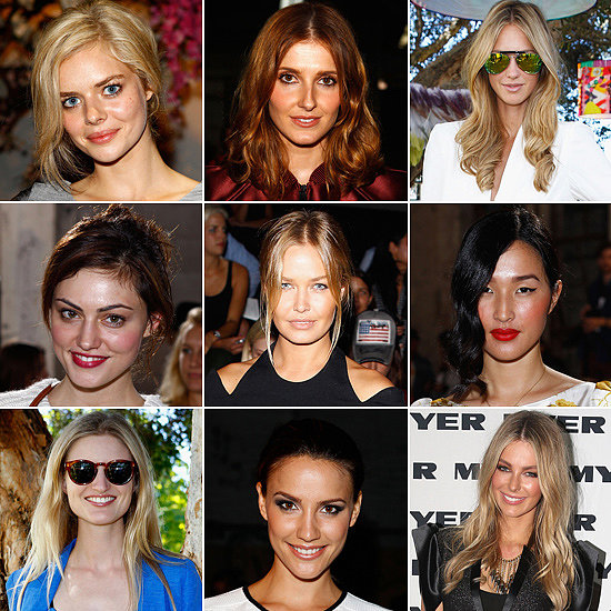 Look Back: The Best Front Row Celebrity Beauty Looks From Last Year's Australian Fashion Week