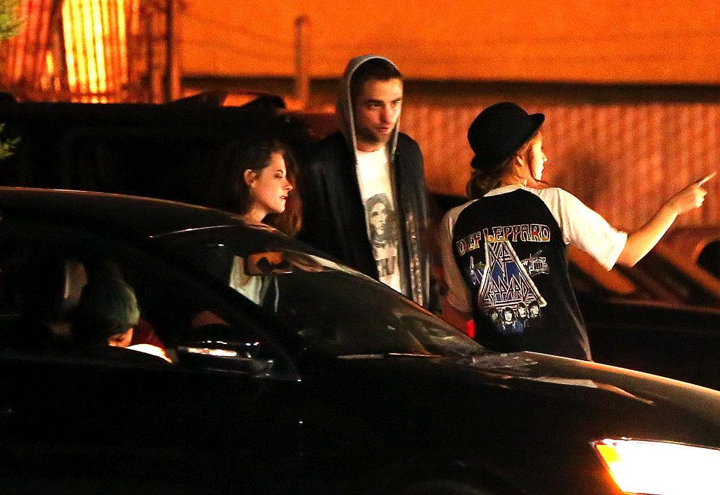 Kristen Stewart and Robert Pattinson celebrated her 23rd birthday.