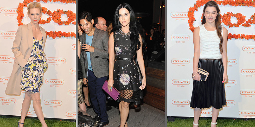The Style Set Flocks to Coach's Annual Benefit
