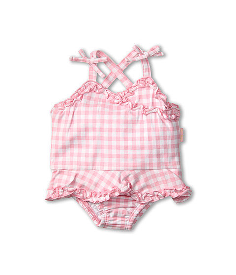 Le Top's sweet ruffled gingham swimsuit ($35) will be your baby girl's Summer staple.