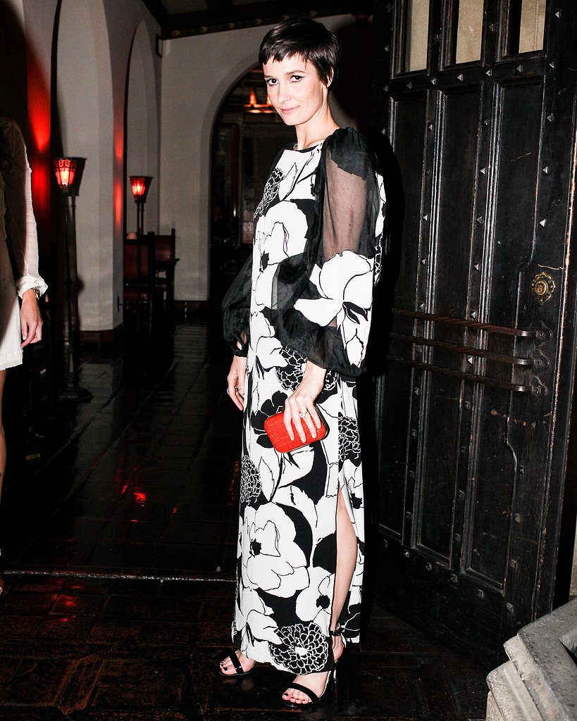 """Cassandra Grey at the """"Let's Bring Back by Lulu Frost"""" dinner in Los Angeles. Photo: Aleks Kocev/BFAnyc.com"""