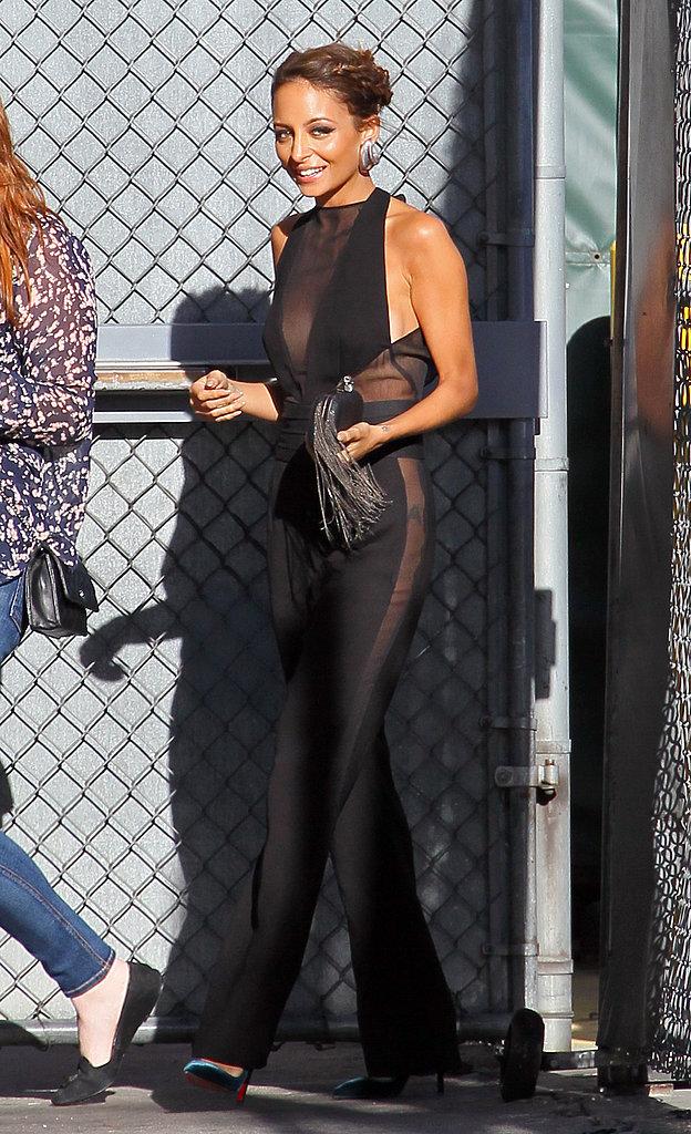 Nicole Richie wore Fall 2013 Emilio Pucci in Los Angeles.