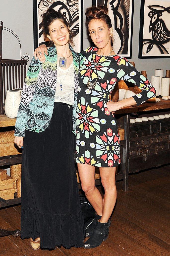 Pamela Love and Mara Hoffman at eBay and Donna Karan's Fashion For Haiti launch party in New York. Photo: Billy Farrell/BFAnyc.com