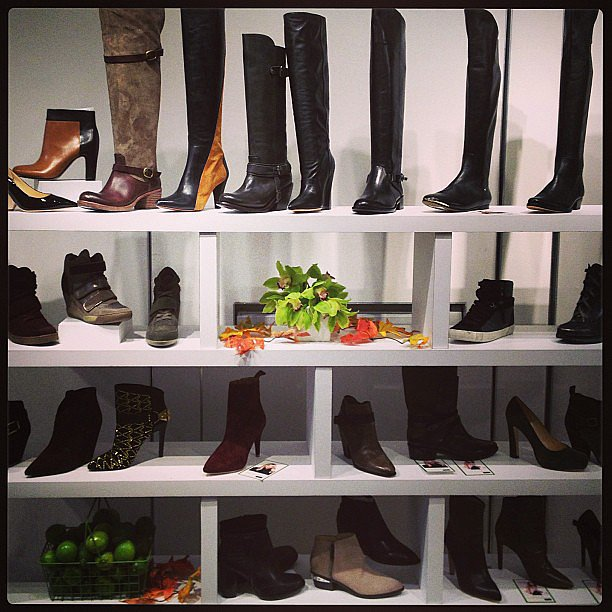 Now that's what we call a shoe wall!