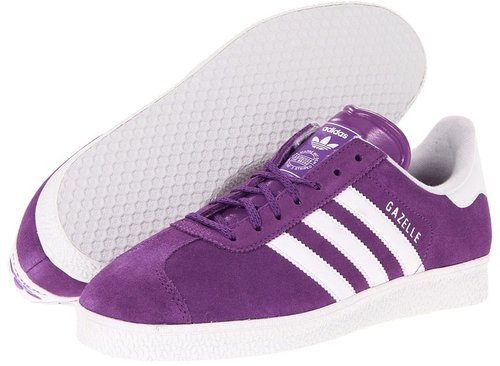 adidas Originals - Gazelle 2.0 - Suede (Lab Purple/White) - Footwear
