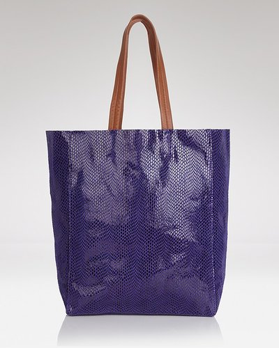 Sorial Tote - Rubina North/South Snakeskin
