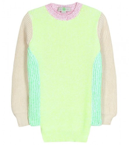 Stella McCartney COLOUR BLOCK PULLOVER