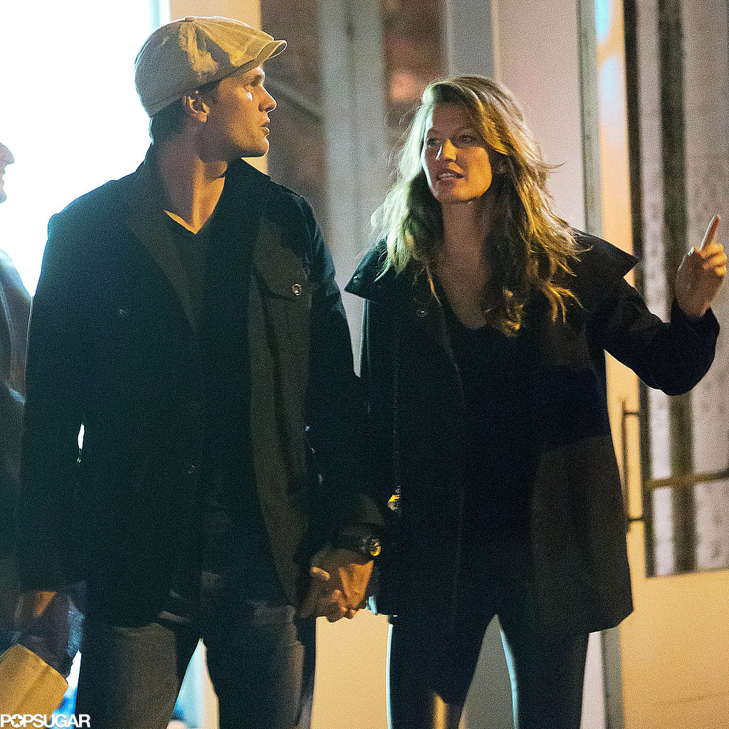 Gisele and Tom Break From Family Time For a Hand-Holding Date Night