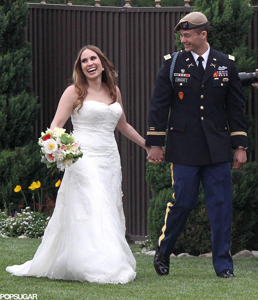 Jessica Simpson Celebrates With Eric, Ashlee, and Tina at a Wedding