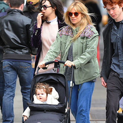Sienna Miller Holding Hands With Tom Sturridge in NYC