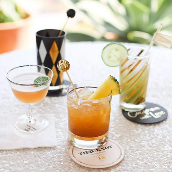 Signature Wedding Cocktail Ideas