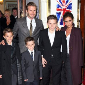 Victoria Beckham Family Photos