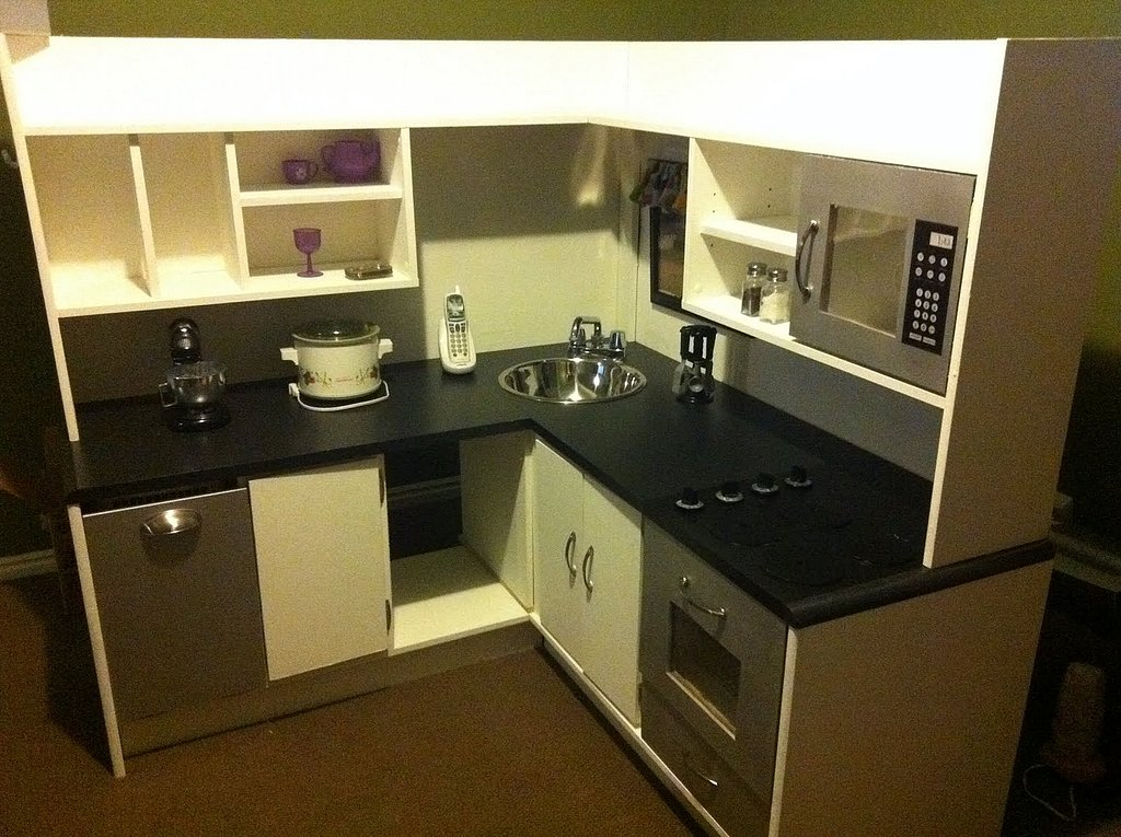 The After: A Modern Play Kitchen
