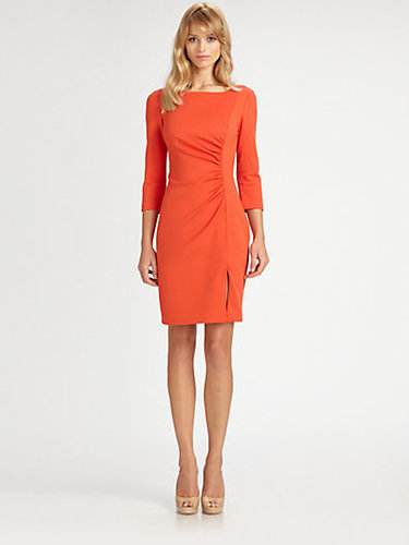Trina Turk Ruched Ponte Dress