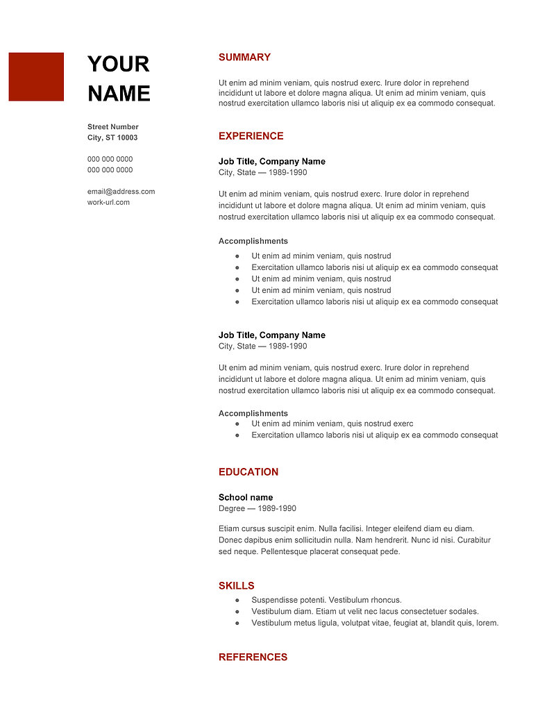 Latest Resume Trends Best Resume New Resume Format Smlf New Resume Samples  Free Download Fresher  Current Resume Templates
