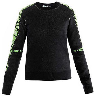 Kenzo Clouded leopard sleeve sweater