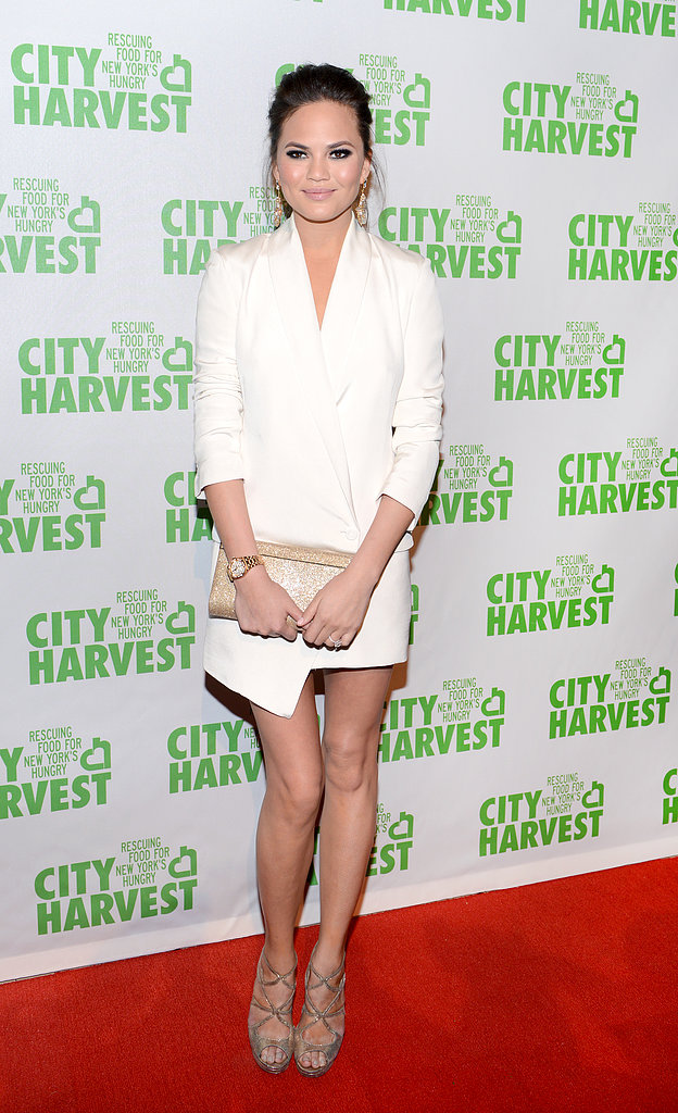 Chrissy Joins Up With John at City Harvest Bash and Swears Off Alcohol