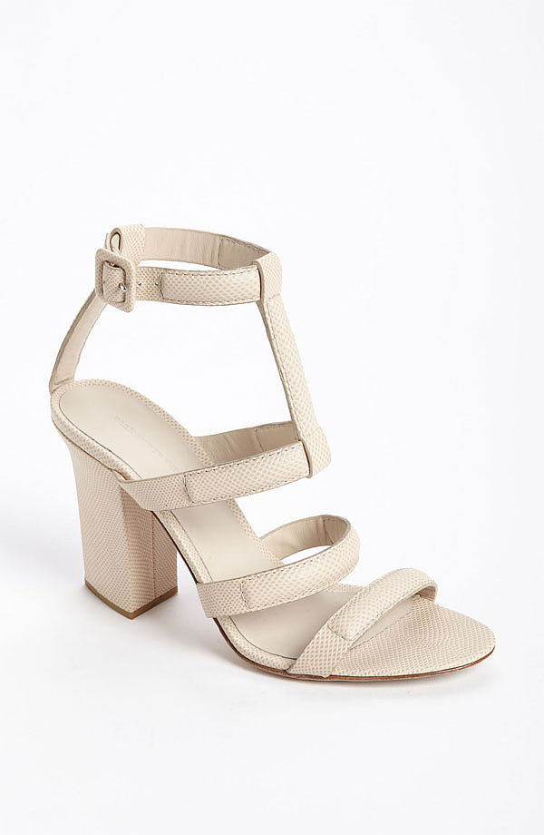 The chunky sole on Alexander Wang's Anjelika sandal ($625) is perfect for city walking.