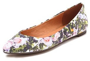 Madewell Floral Skimmer Flats