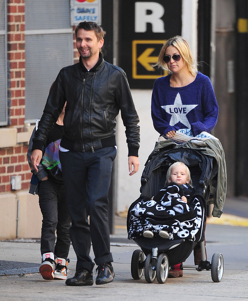 Kate Hudson and Matthew Bellamy Out in NYC   POPSUGAR ...