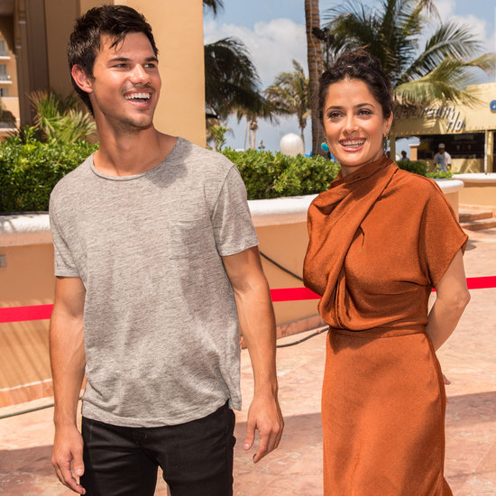 Taylor Lautner in Cancun For Grown Ups 2 Promotions