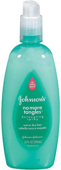 Johnson & Johnson No More Tangles Spray Detangler - 10 oz