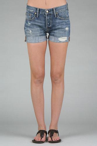 Work Custom Jeans Beatnik Short in Medium Riviera