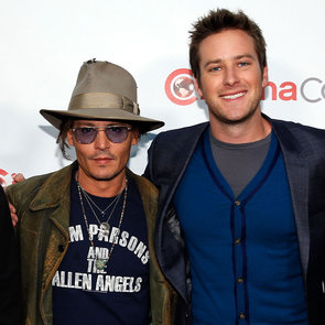 Johnny Depp Promotes The Lone Ranger at CinemaCon | Photos