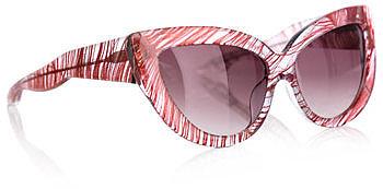Linda Farrow For Charlotte Olympia Feather sunglasses
