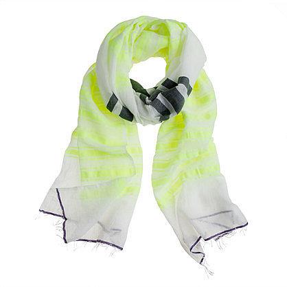Lemlem® Ishi gauze scarf