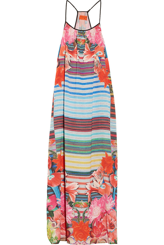 An eye-catching printed maxi dress like Clover Canyon's Crepe de Chine Dress ($290) is a free-spirited alternative to an LBD.